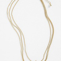 Carole Three Layer Cross Necklace | Nordstrom
