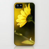 Yellow spring iPhone & iPod Case by Guido Montañés