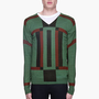 Diesel Black Gold Green Patterned Katiana-magic Sweater for men | SSENSE