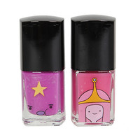 Adventure Time Princess Bubblegum & Lumpy Space Princess Nail Polish 2 Pack | Hot Topic