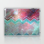 Chevron Galaxy Laptop &amp; iPad Skin by Belle13