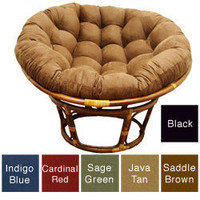 Rattan Papasan Chair | Overstock.com