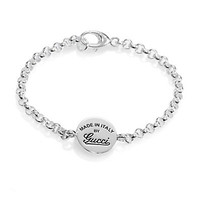 Gucci - Sterling Silver Signature Chain Bracelet