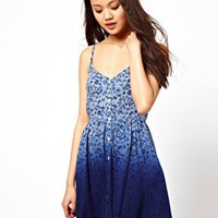 River Island Ombre Cami Dress at asos.com