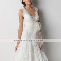 Informal Beach Wedding Dresses,Destination Bridal Gowns