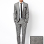 Caxton Fine Stripe Suit at asos.com