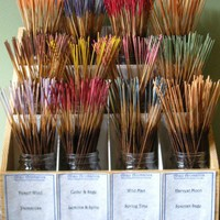Spanish Sage Hand Dipped Incense - 30 sticks | abzuemporium - Candles on ArtFire