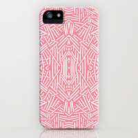 Radiate (Salmon) iPhone & iPod Case by Jacqueline Maldonado