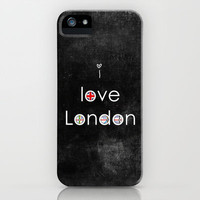 i love London iPhone & iPod Case by ingz