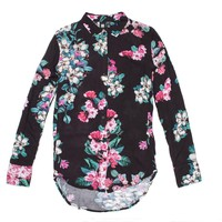 Insight - Women's Magnolia Shirt (Black Magnolia)