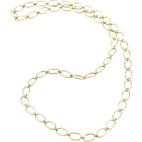 Irene Neuwirth Gold Large Link Chain Necklace at Barneys.com