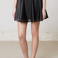 Noir Vegan Leather Skirt