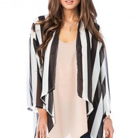 Hartstock Chiffon Cardigan - ShopSosie.com