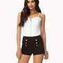Knit Sailor Shorts | FOREVER 21 - 2046053419