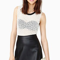 Scalloped Skater Skirt