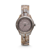 ES3093 - Stella Mini Three Hand Resin Watch