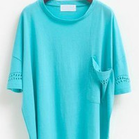 Loose Batwing Tee