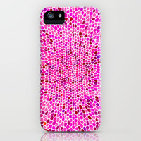 THINK PINK iPhone & iPod Case by catspaws