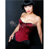 High Quality Elegant Lycra Strapless Underbust Shaper Corset Red [TQL120320036] - &amp;#36;31.06 : Zentai, Sexy Lingerie, Zentai Suit, Chemise