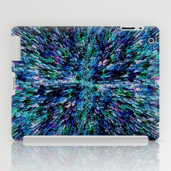 Black Ice (for other colors, see Starburst and Metropolis) iPad Case by Shawn Terry King