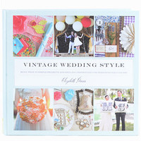 DIY Vintage Wedding Style Book