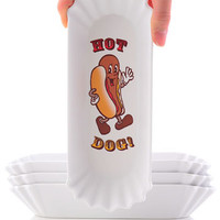 Retro Hot Dog Washable Trays