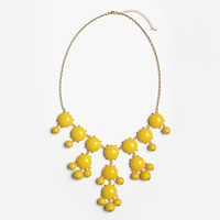 Lemon Bubble Necklace