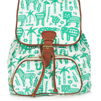 Safari Zoo Backpack - Backpacks - Bags & Wallets - Bags & Accessories - Topshop USA