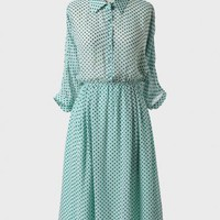 Heartfelt Polka Dot Midi Dress at ShopRuche.com