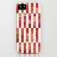 PINK FLORAL ORDER iPhone & iPod Case by Bianca Green