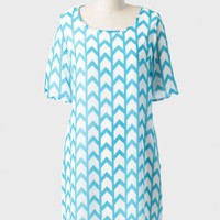 Send Off Arrow Print Shift Dress at ShopRuche.com