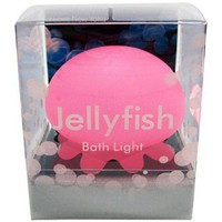 Pink Jelly Fish Bath Light