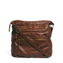 New Look Melinda Washed PU Messenger Bag at asos.com