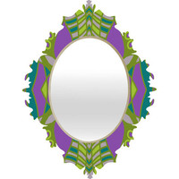 DENY Designs Home Accessories | Paula Ogier Orchid Baroque Mirror