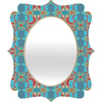 DENY Designs Home Accessories | Paula Ogier Daydream Deco Quatrefoil Mirror