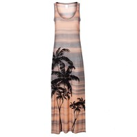 Vila Palm Beach Maxi Dress