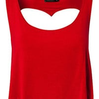 Open Heart Top, Club L