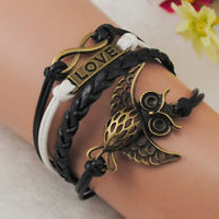 owl cuff bracelet | eBay