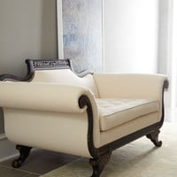 Old Hickory Tannery Ellsworth Neutral Duncan Loveseat