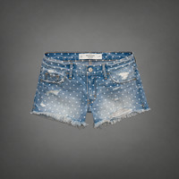A&amp;F Mid Rise Shorts