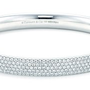 Tiffany Metro Five-row Hinged Bangle