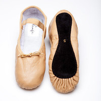 Caramel Ballet Shoes | Beautiful Colorful Ballet Shoes for Every Woman's Wardrobe by Linge Shoes