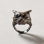 Anthropologie - Timber Wolf Ring