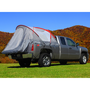 Gray & Red Full Size Standard Bed Truck Tent