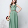 2013 spring and summer Bohemian waist chiffon dress - $78.50