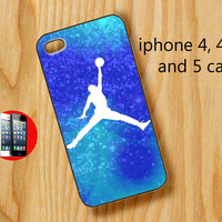 Michael Jordan in Blue for iphone 5 case , iphone 4 case, iphone 4s case, samsung galaxy s2 i9100, samsung galaxy s3 i9300