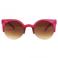 Hibiscus Lucite Lucy Sunglasses