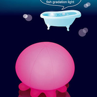 Japanese Jellyfish Pink Bath Light