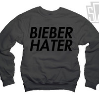Justin Bieber Hater Sweatshirt For Selena Gomez and One Direction Fans 005