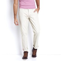 Straight Cut Chino Trousers